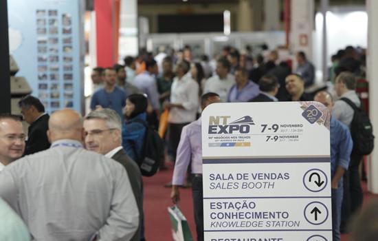 巴西圣保罗铁路工业展览会NT EXPO
